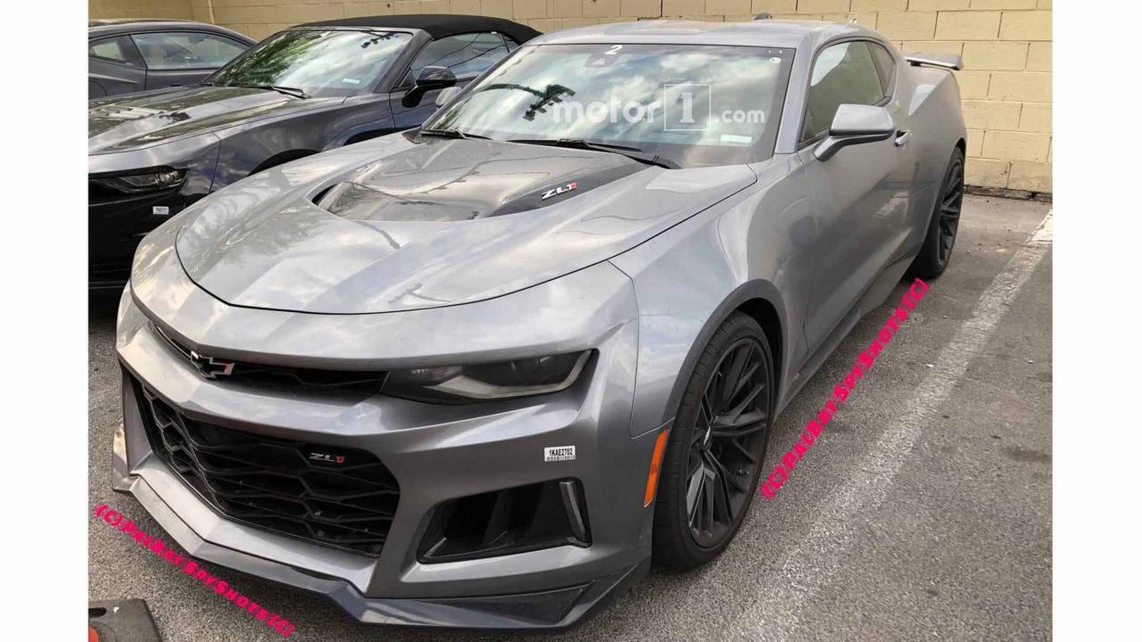 2019 Chevy Camaro ZL1 Spy Photos