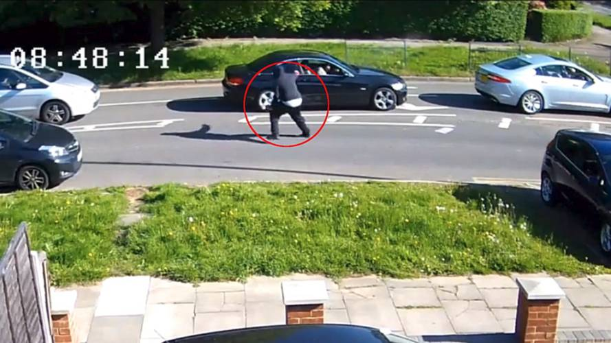 Gunman shoots at BMW driver stuck in North London traffic