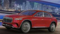 Vision Mercedes-Maybach Ultimate Luxury leaked official image