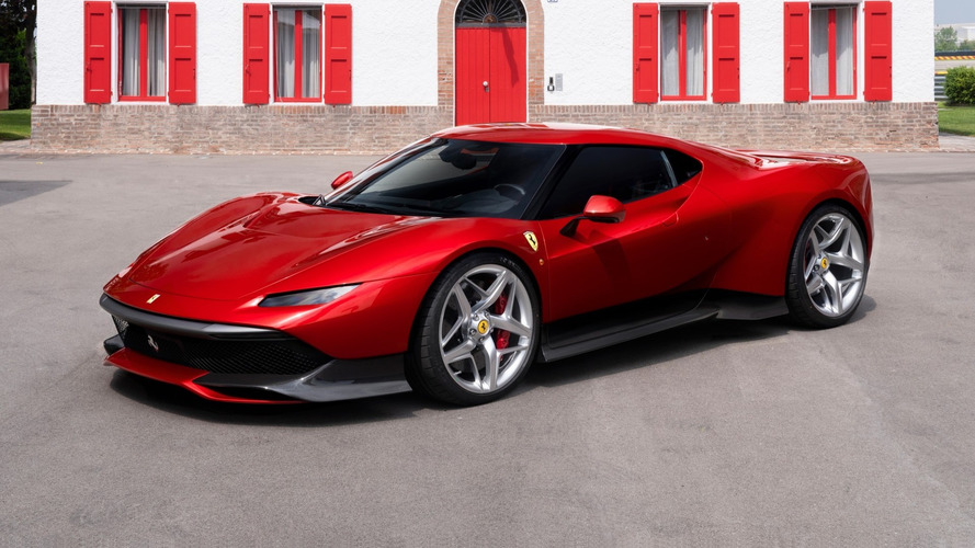 Ferrari SP38 Is A One-Off Built With F40 Inspiration