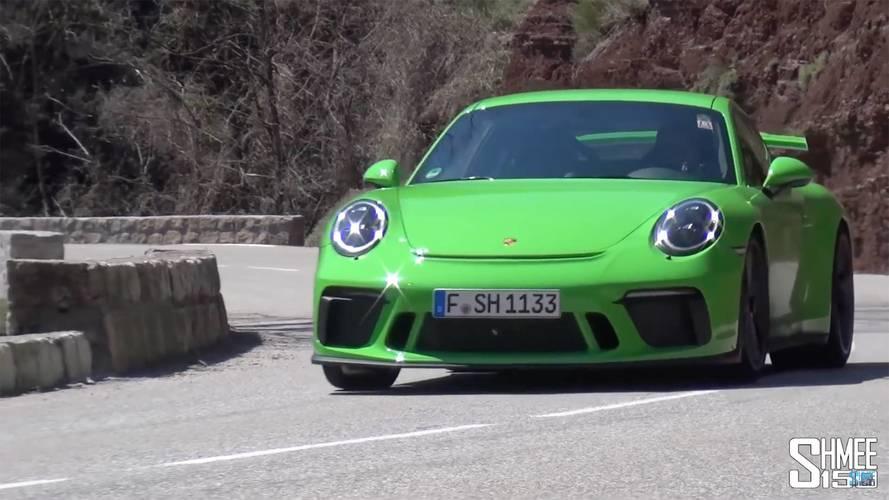 VIDÉO - La mélodieuse Porsche 911 GT3 donne de la voix