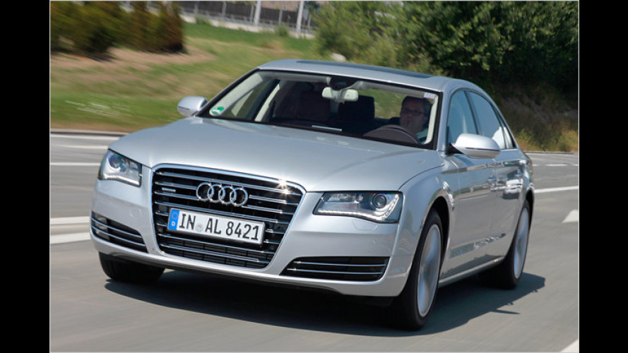 Neuer Audi A8 L: Ingolstädter Auto-Salon