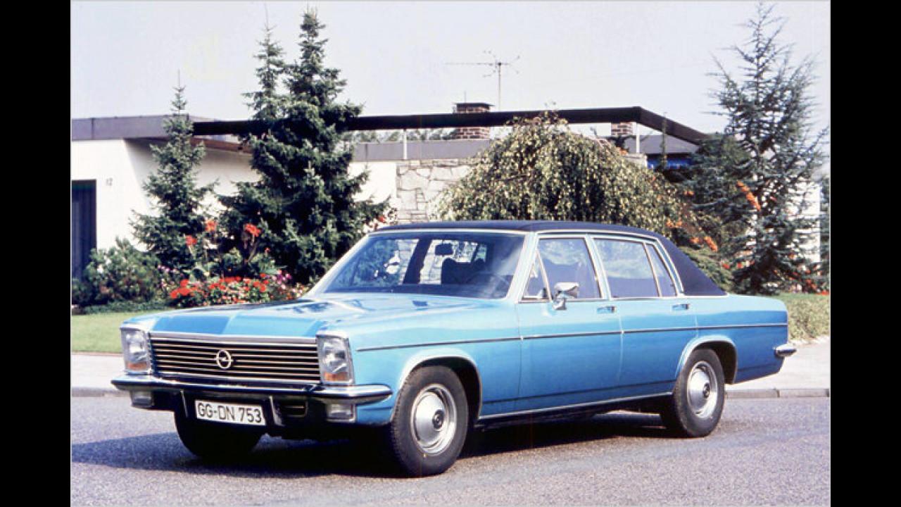 Platz 20: Opel Kapitän/Admiral/Diplomat