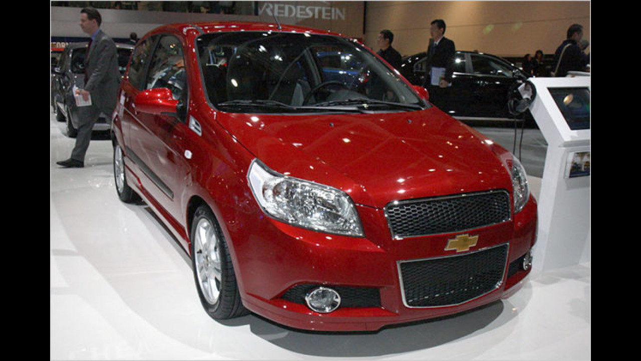 Chevrolet Aveo: Die dreitürige Version des Kleinwagens startet im Juni 2008