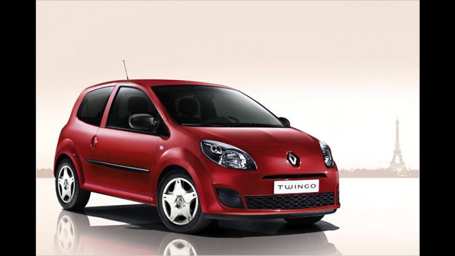 Schmetterlinge im Bauch: Renault Twingo ,je t'aime