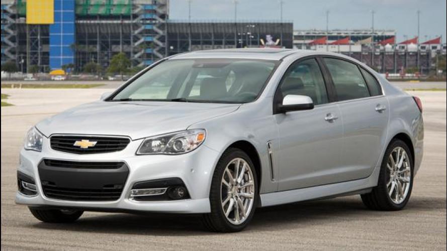 Chevrolet SS: da 34.000 euro, ma solo negli USA