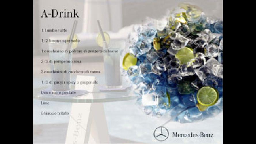 La nuova Mercedes Classe A si inventa l'A-Drink