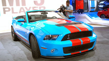 Ford Shelby GT500 Mustang at 2009 NAIAS
