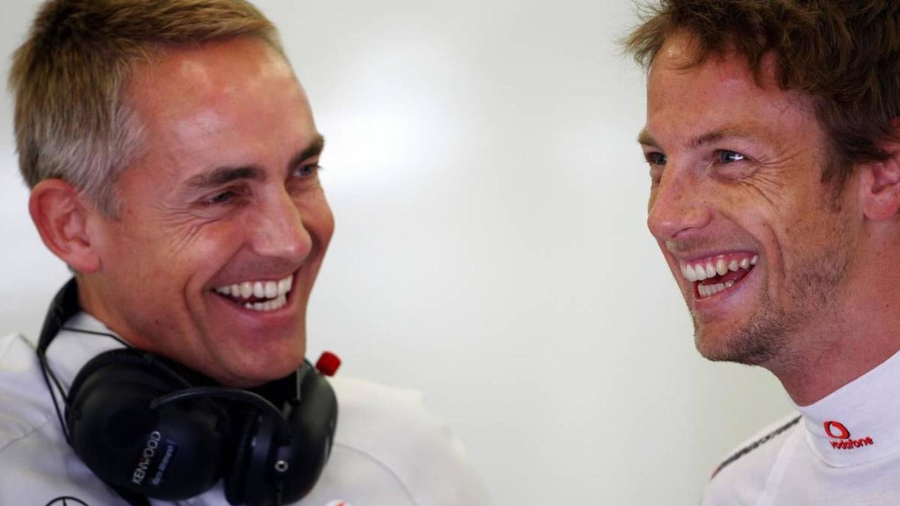 Martin Whitmarsh (GBR), McLaren, Chief Executive Officer, Jenson Button (GBR), McLaren Mercedes, Turkish Grand Prix, 28.05.2010 Istanbul, Turkey