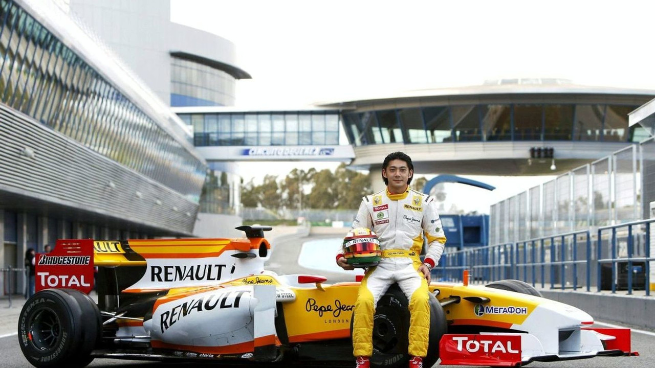Ho-Pin Tung, Renault R29, 2009 Formula One Testing, Young Drivers Test, Jerez, Spain, 02.12.2009