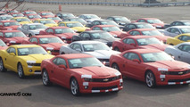 Chevrolet Camaro Production Cars Ready to Rescue GM