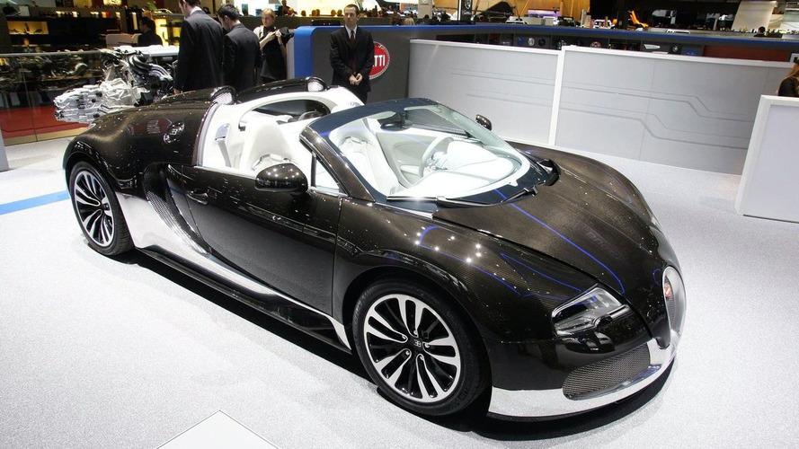 Two Unique Bugatti Veyron 16.4 Grand Sports Expose Their Carbon Fiber in Geneva
