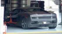New Lamborghini LP550 spy shots