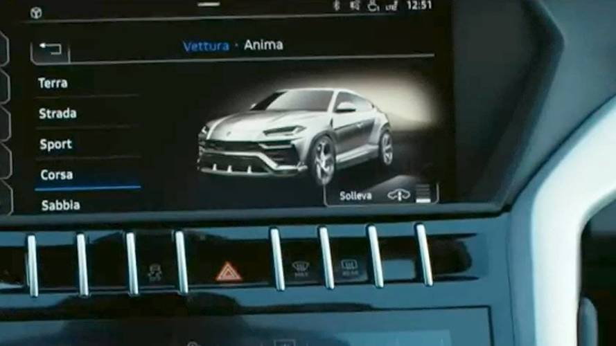 Lamborghini Urus 2018: casi al descubierto, en el modo Corsa