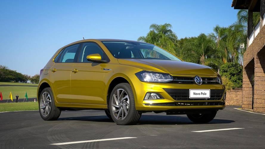 Volkswagen Polo - Entre 4 mil e 4,5 mil unidades por mês