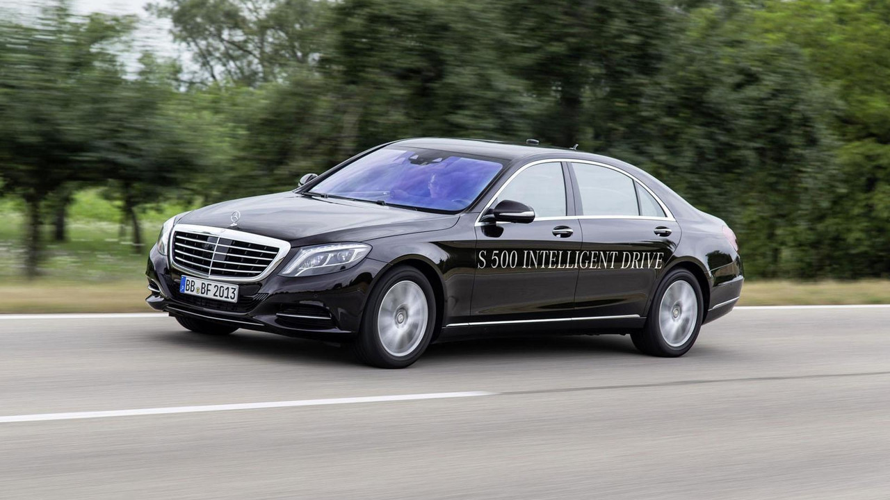 Mercedes S500 Intelligent Drive prototype 12.9.2013