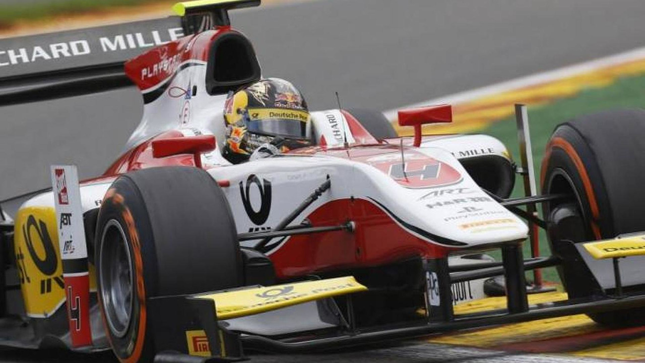 Daniel Abt 23.08.2013 GP2 Series Round 8 Spa Belgium