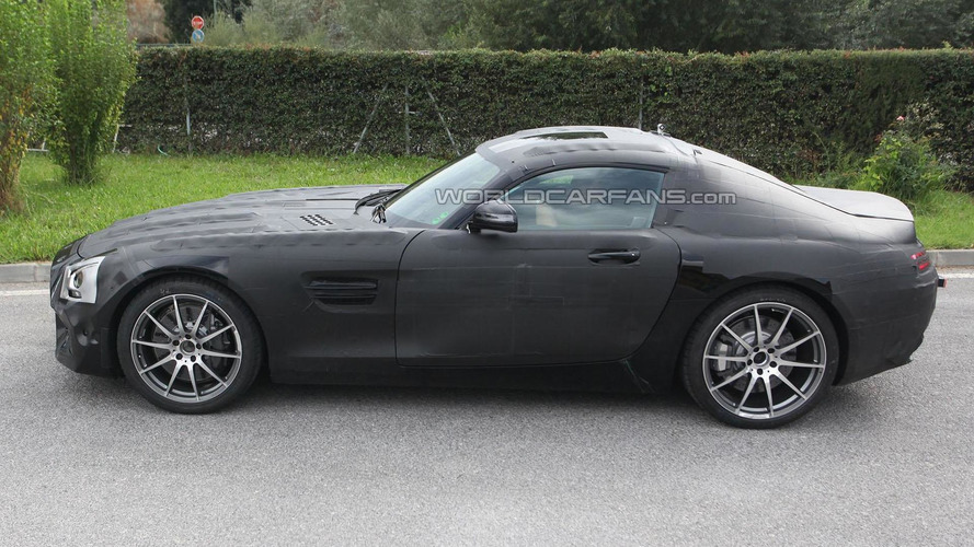 2015 Mercedes SLC / C190 spied up close