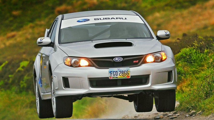 Subaru WRX STI breaks Isle of Man lap record