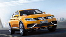Volkswagen CrossBlue Coupe concept