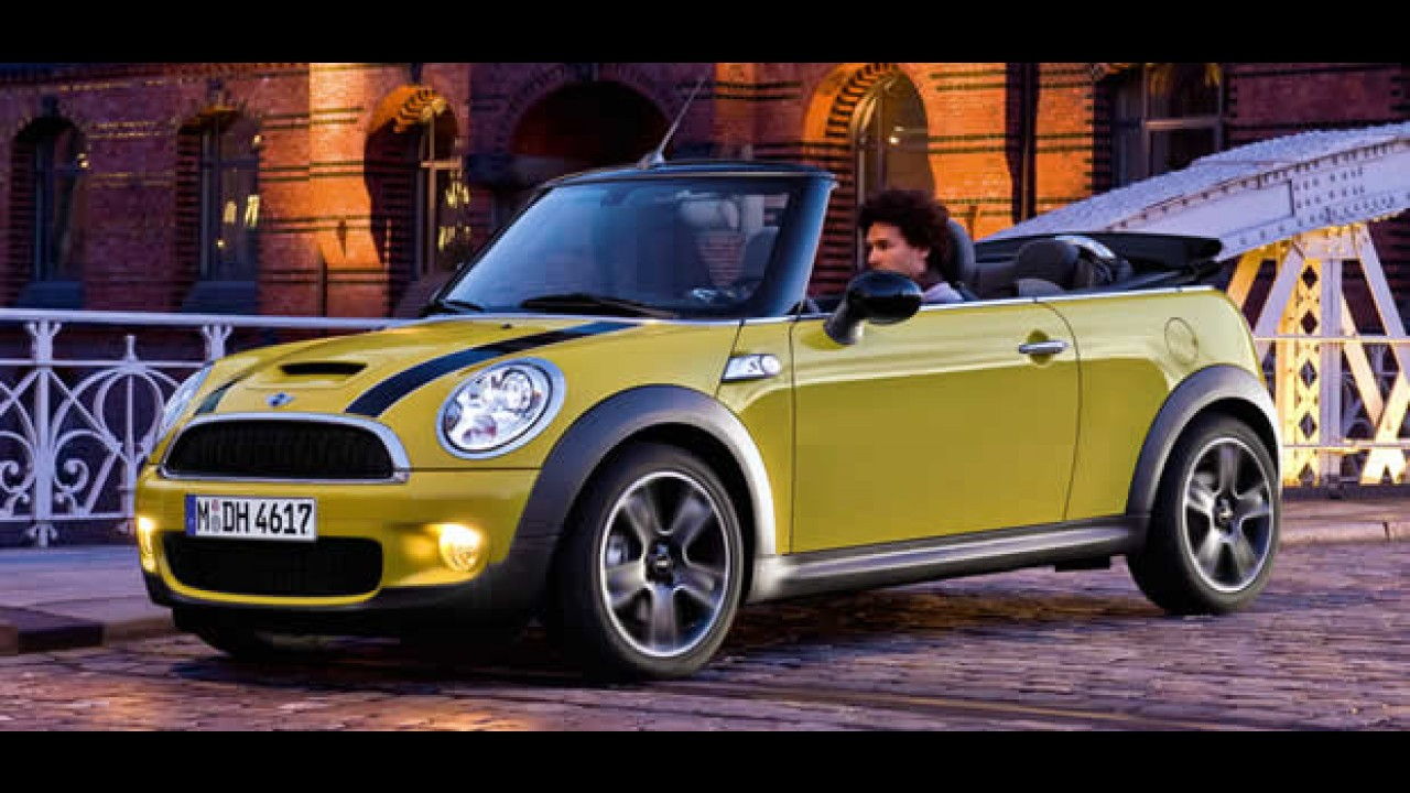 mini cooper s cabrio com motor 1 6 16v turbo de 175 cv chega semana que vem no brasil. Black Bedroom Furniture Sets. Home Design Ideas