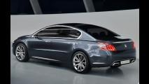 Novo Peugeot 508 2011 é flagrado sem disfarces na Espanha