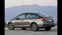 Honda Civic deve ganhar motores com injeção direta em 2015