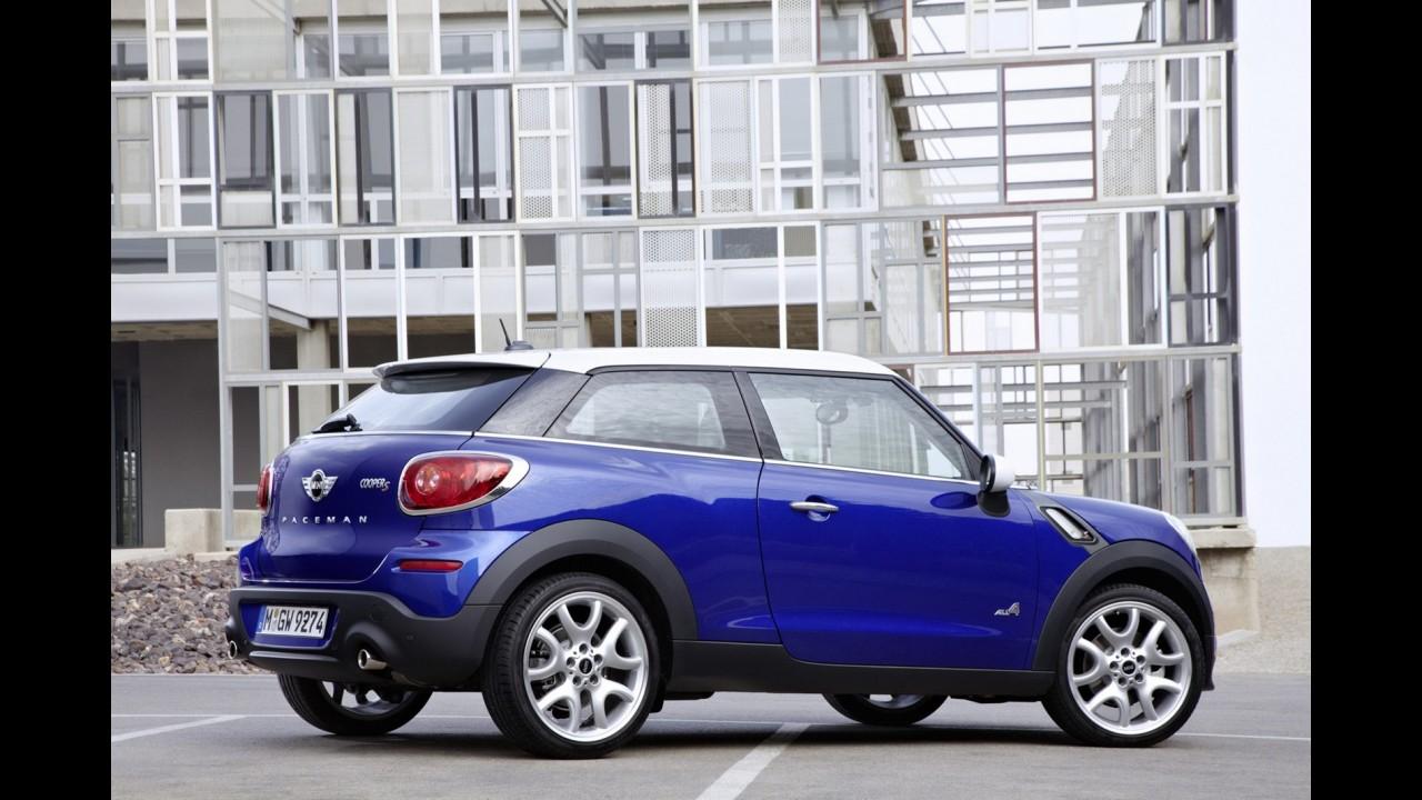 Novo Mini Paceman é revelado oficialmente - Modelo será atração da marca no Salão de Paris