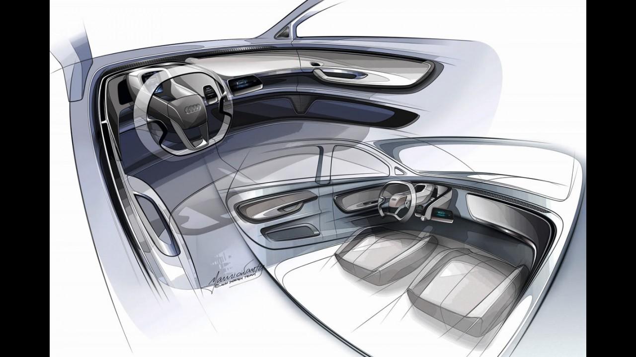 Pré-Frankfurt: Audi A2 Concept antecipa novo compacto alemão