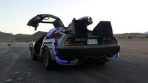 Back to the Future DeLorean on eBay