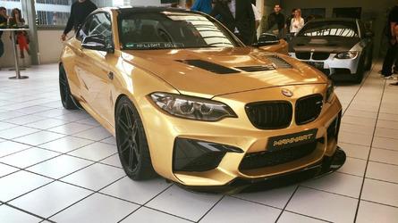 Vídeo: BMW M2 Manhart (630 CV) rodando en Nürburgring