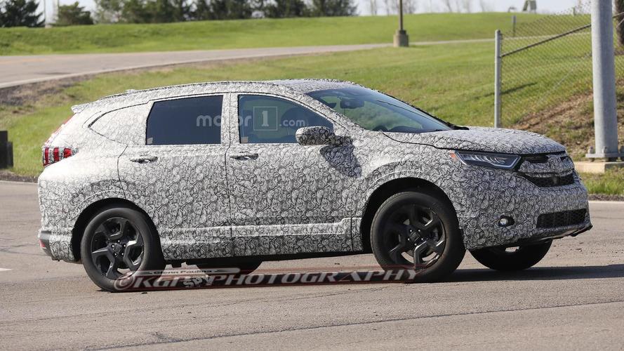 2017 Honda CR-V spy photos