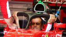 Ferrari SF16-H with Halo cockpit cover