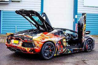 Lamborghini Aventador Gets a Marvel-ous Superhero Wrap