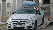 2017 Mercedes-AMG E63 Estate spy photo