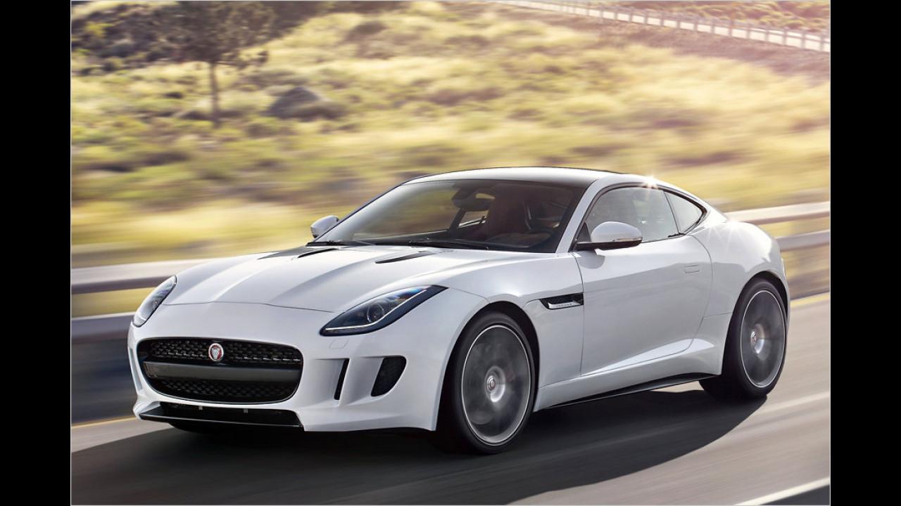 Platz 10: Jaguar F-Type, 138 Neuzulassungen
