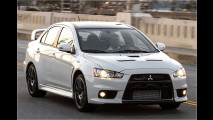 Mitsubishi schickt den Evo X in Rente