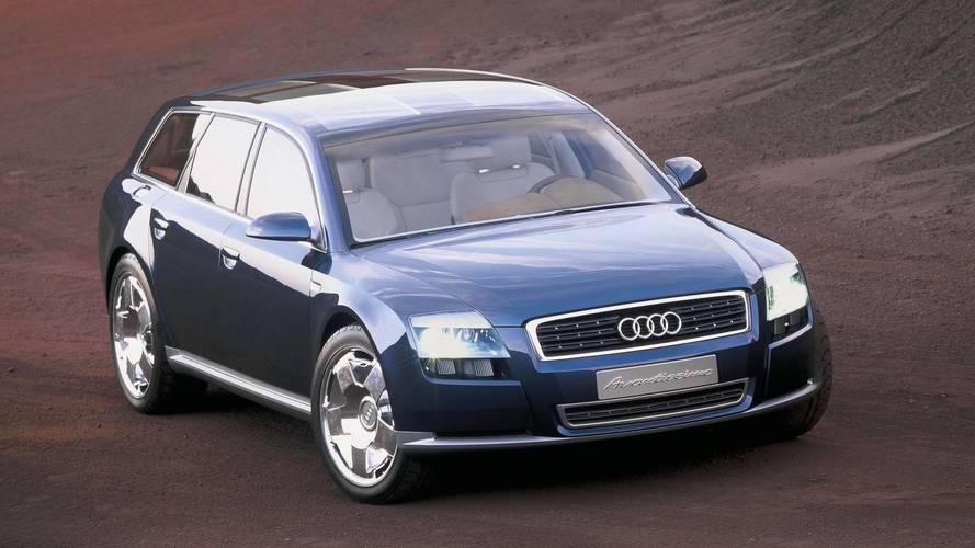 Conceitos esquecidos: Audi Avantissimo era a perua do A8 que queríamos