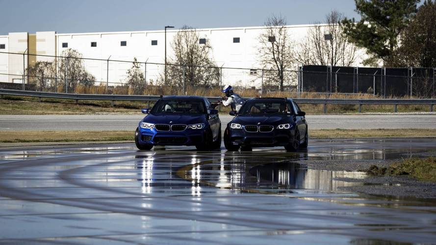 BMW sets drifting records with new M5