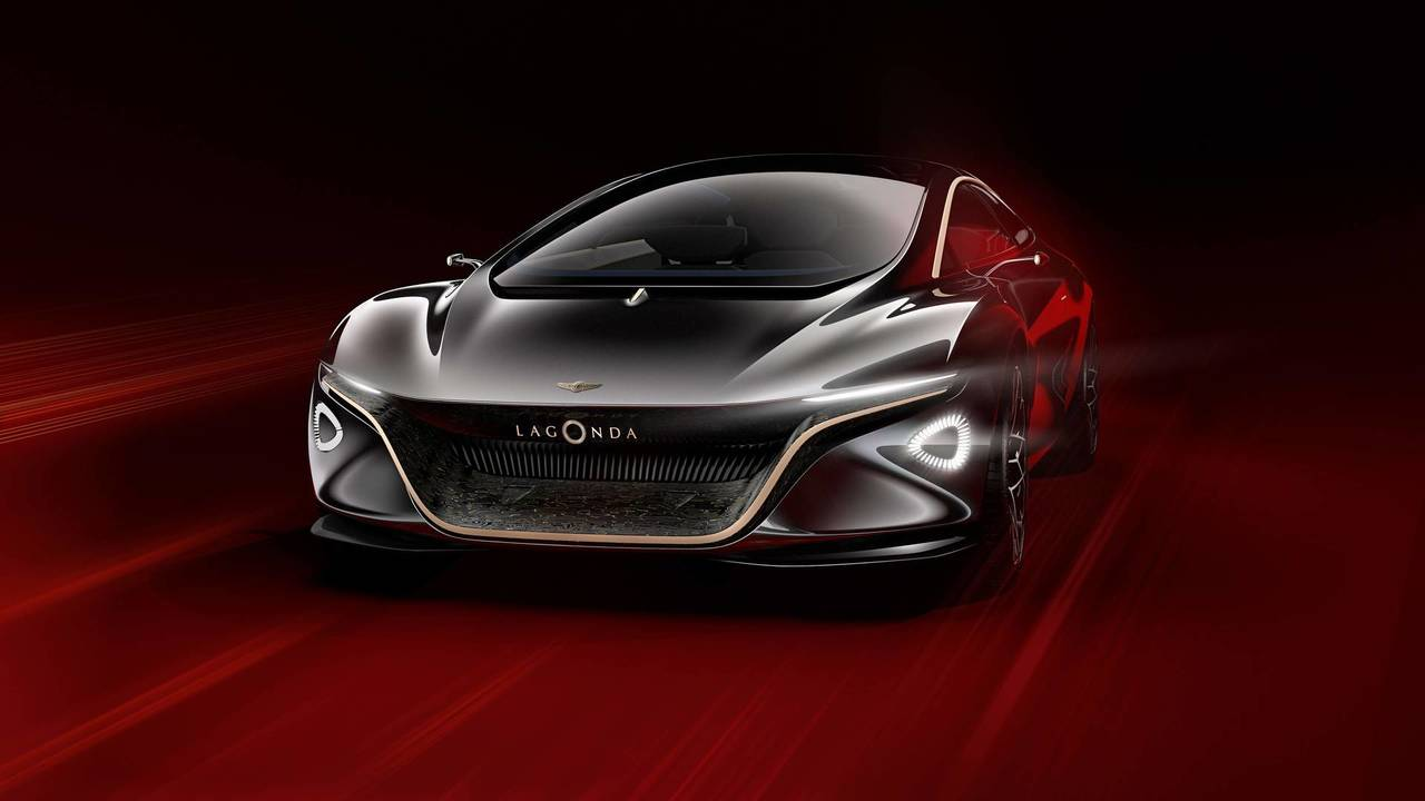 Aston Martin Lagonda Vision konsepti - 2018 Cenevre Otomobil Fuarı