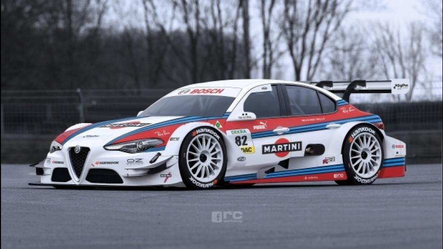 Alfa Romeo Giulia, un sogno chiamato Martini Racing [VIDEO]