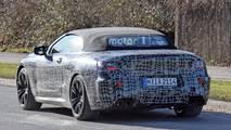 2019 BMW M8 Convertible Spy Photos