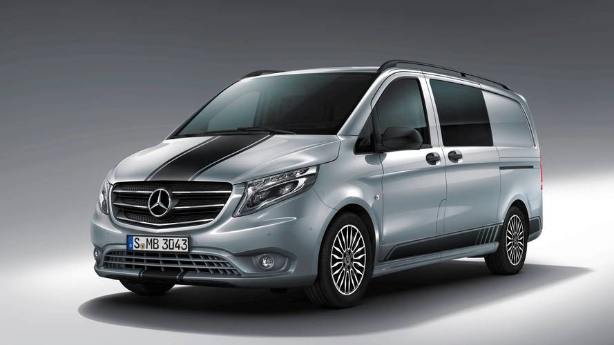 Watch out for silver van man – Mercedes launches sporty Vito