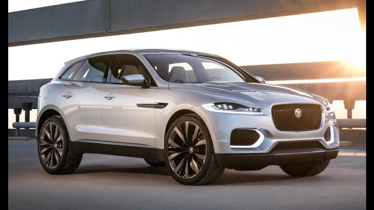 Jaguar F-Pace é revelado em primeira foto oficial; SUV chega ao Brasil em 2016