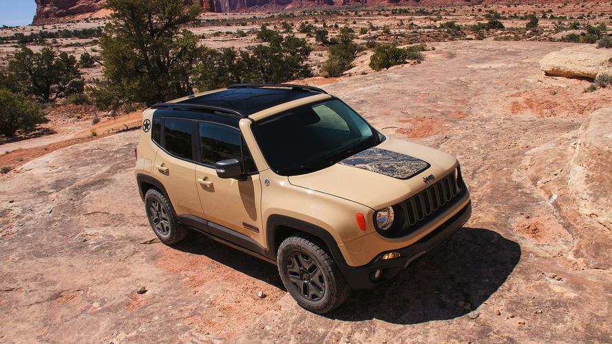Jeep Renegade ganha edições especiais Desert Hawk e Altitude em Los Angeles