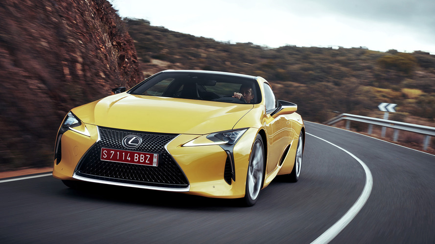 Most Expensive 2018 Lexus LC 500 Costs $108,206