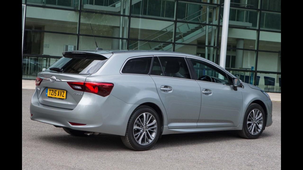 """""""Ameaça-SUV"""" faz Toyota repensar segmento de sedãs grandes na Europa"""