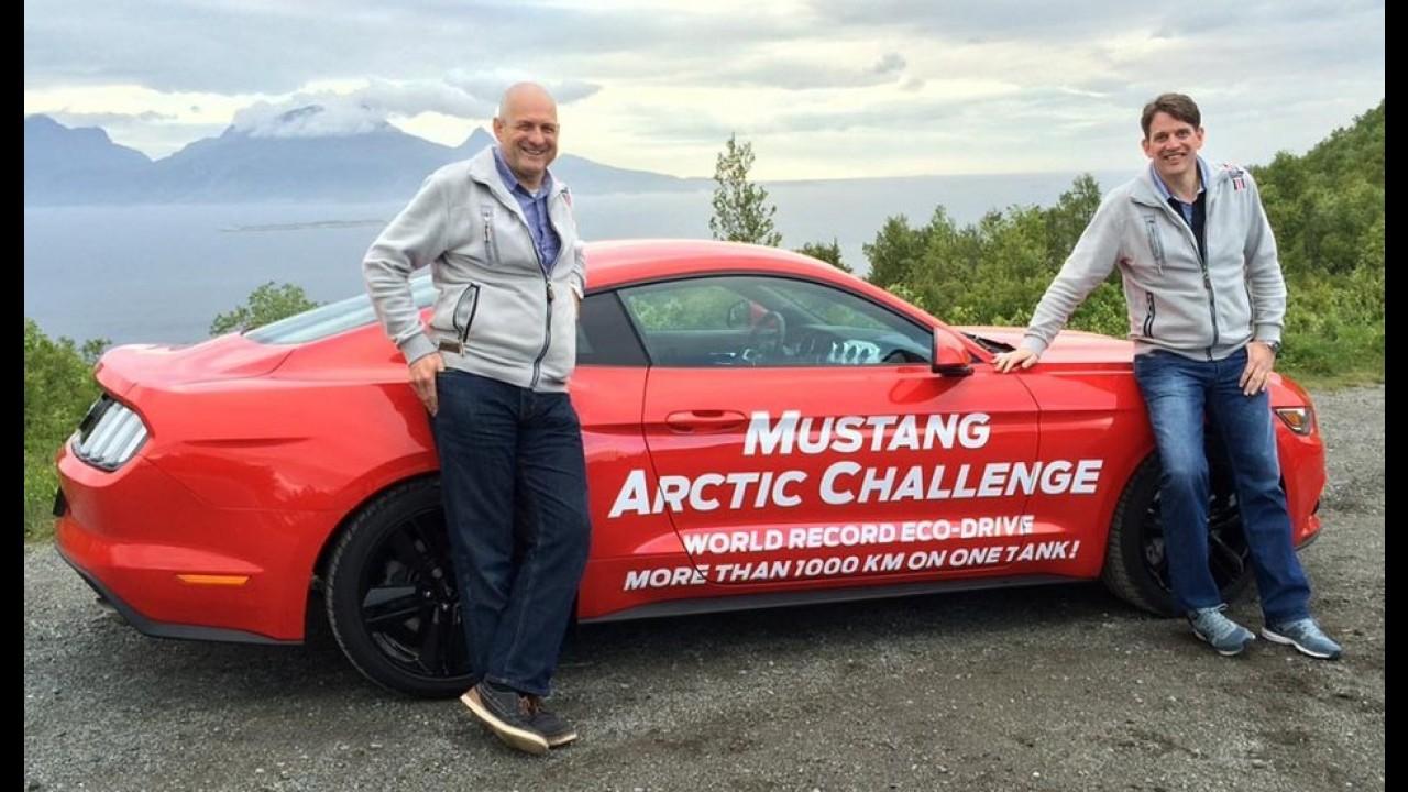 Muscle-car econômico: Mustang com motor EcoBoost roda 1.250 km com um tanque