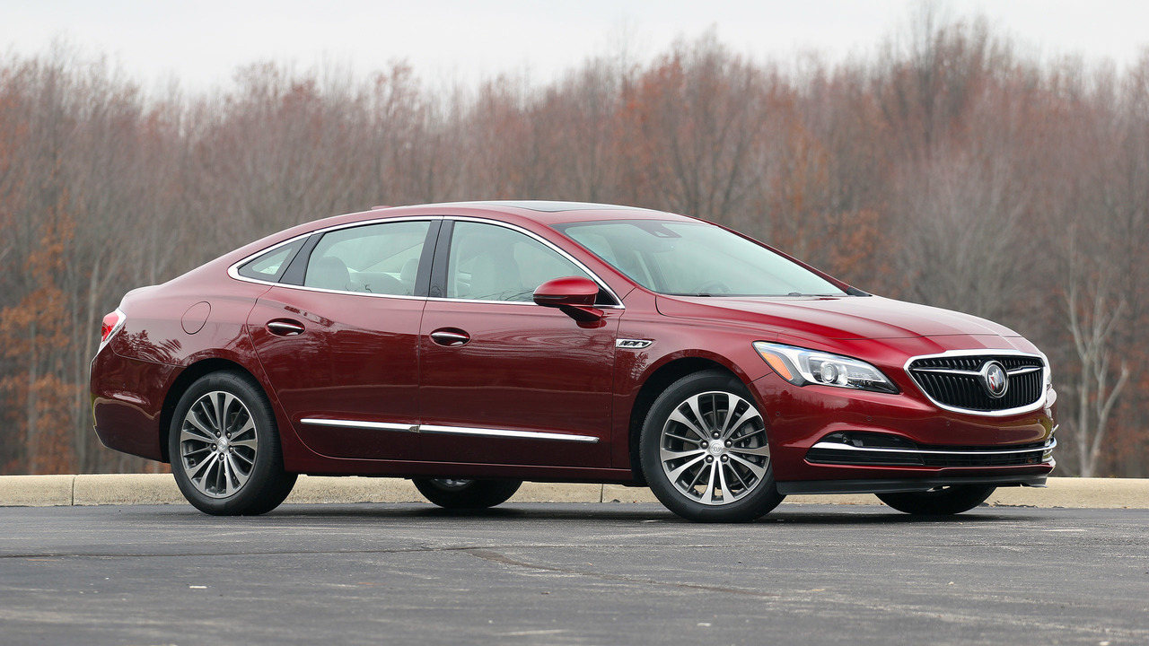 Chevy Impala 2017 >> 2017 Buick LaCrosse Review: Big is beautiful