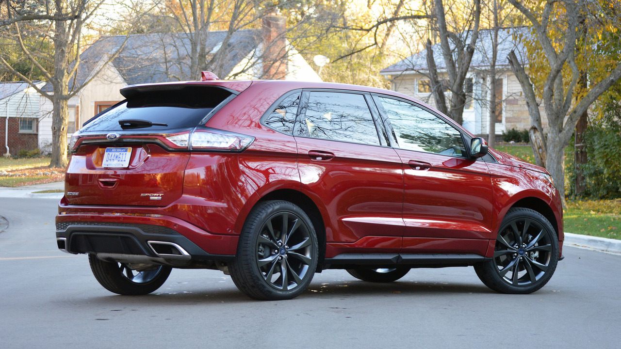 2017 Ford Edge Sport Review The power to corrupt
